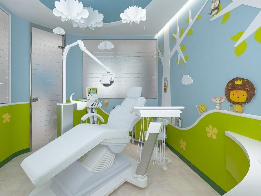 Детский кабинет в стоматологии Leo Dent