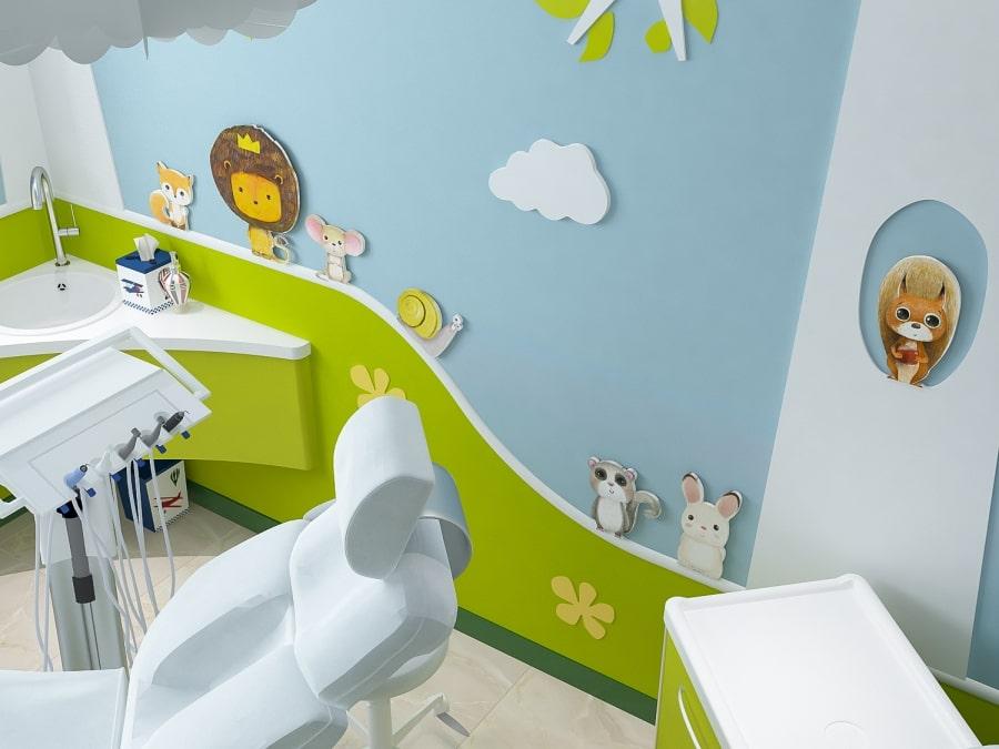 Фото детского кабинета в стоматологии Leo Dent